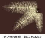 fluff. beautiful hand drawn... | Shutterstock .eps vector #1013503288