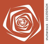 rose. vector flower. beautiful...   Shutterstock .eps vector #1013505634