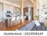 Modern interiors penthouse...