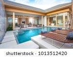 luxury interior design in... | Shutterstock . vector #1013512420