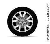 car wheel. tire | Shutterstock .eps vector #1013518144