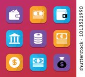 rich icons. vector collection... | Shutterstock .eps vector #1013521990