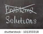 image of solutions without... | Shutterstock . vector #101353318