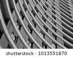 fragment of modern building... | Shutterstock . vector #1013551870