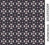 seamless geometric pattern in... | Shutterstock .eps vector #1013555209