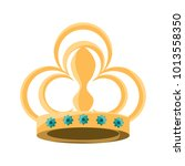 queen crown icon image | Shutterstock .eps vector #1013558350