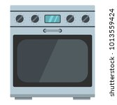 domestic gas oven icon. cartoon ... | Shutterstock .eps vector #1013559424