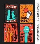 rock  blues music festival... | Shutterstock .eps vector #1013563930