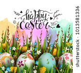 template vector card with...   Shutterstock .eps vector #1013581336