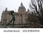 Stock photo view of hannover old historical german city 1013583454