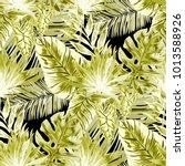 watercolor seamless pattern... | Shutterstock .eps vector #1013588926