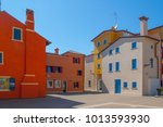 Colorful Houses In The Histori...