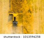 aerial view of combine... | Shutterstock . vector #1013596258
