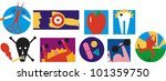 health related icons | Shutterstock .eps vector #101359750