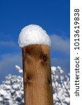 Freshly Fallen Snow Is Piled U...