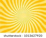 retro editable sunburst  ... | Shutterstock .eps vector #1013627920