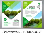 business brochure. flyer design.... | Shutterstock .eps vector #1013646079