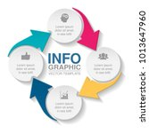 vector infographic template for ... | Shutterstock .eps vector #1013647960
