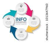 vector infographic template for ... | Shutterstock .eps vector #1013647960