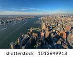 new york city and new jersey... | Shutterstock . vector #1013649913