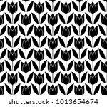 Ornament Tulip Pattern