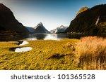 milford sound  new zealand... | Shutterstock . vector #101365528