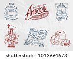 native american set. old ... | Shutterstock .eps vector #1013664673