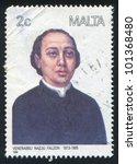 malta   circa 1988  a stamp... | Shutterstock . vector #101368480