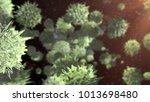 pathogen virus bacteria... | Shutterstock . vector #1013698480