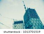 blur city architecture | Shutterstock . vector #1013701519