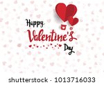 illustration of love and... | Shutterstock .eps vector #1013716033
