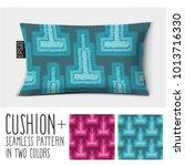 design vector pillow  cushion . ... | Shutterstock .eps vector #1013716330