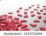 love valentines day background... | Shutterstock . vector #1013721844