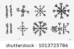 futhark norse islandic and... | Shutterstock .eps vector #1013725786