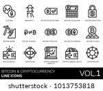 bitcoin  blockchain  ... | Shutterstock .eps vector #1013753818
