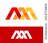 triple initial a triangle...   Shutterstock .eps vector #1013753854