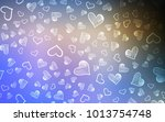 light blue  yellow vector cover ... | Shutterstock .eps vector #1013754748