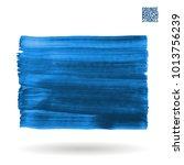 blue brush stroke and texture....   Shutterstock .eps vector #1013756239