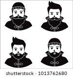 fisherman sailor  seaman man in ...   Shutterstock . vector #1013762680