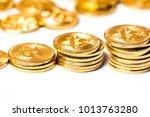 new virtual money crypto... | Shutterstock . vector #1013763280
