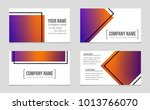 abstract vector layout... | Shutterstock .eps vector #1013766070