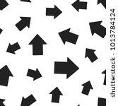 arrow up seamless pattern... | Shutterstock .eps vector #1013784124