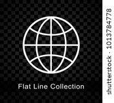illustration of globe icon on...   Shutterstock .eps vector #1013784778