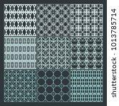 seamless pattern ornament... | Shutterstock .eps vector #1013785714