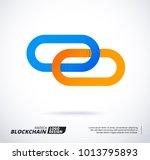 modern logo concept for... | Shutterstock .eps vector #1013795893