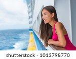 beautiful asian model woman on... | Shutterstock . vector #1013798770