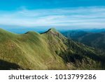 beautiful natural landscape of  ...   Shutterstock . vector #1013799286