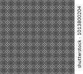 vector seamless rhombus and... | Shutterstock .eps vector #1013800204
