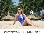 beautiful sexy girl in... | Shutterstock . vector #1013802454