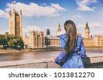 london europe city autumn... | Shutterstock . vector #1013812270